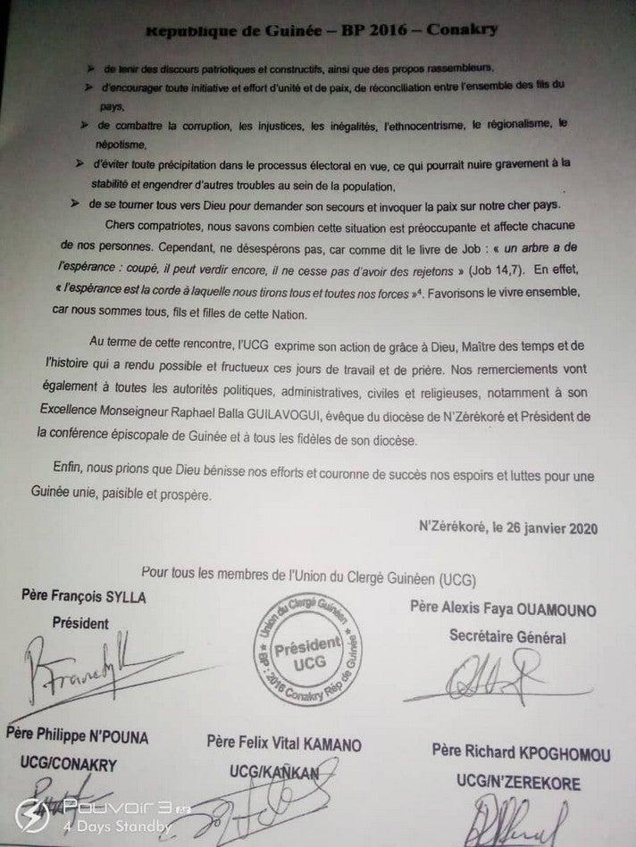 Union-du-Clergé-Guinéen-signature