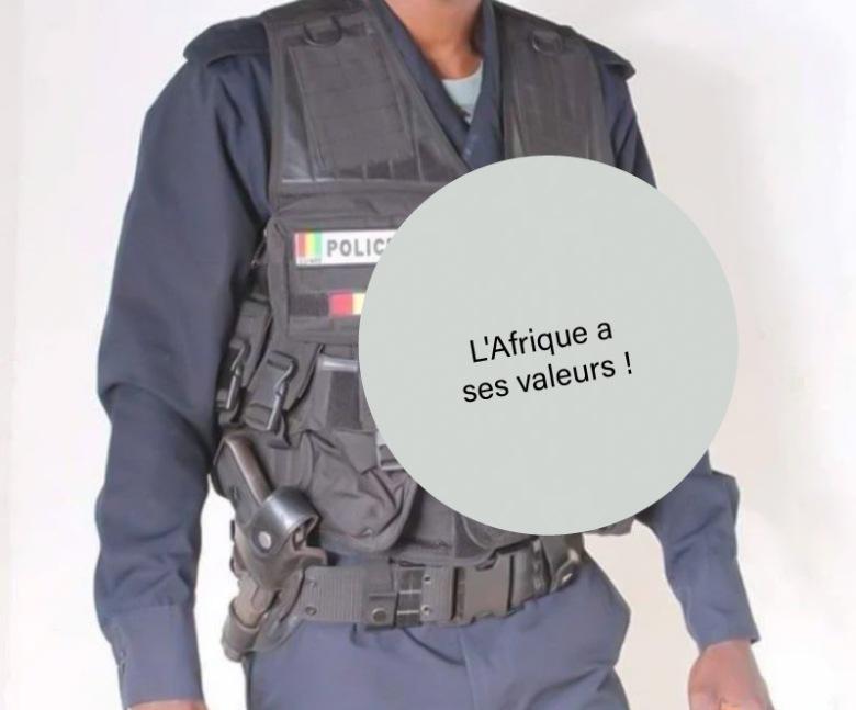 Policier impoli