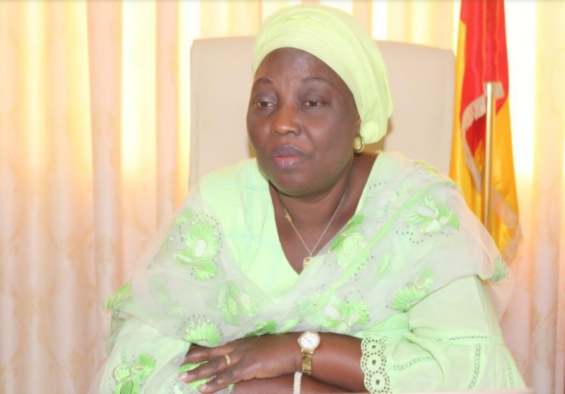 Aminata Touré maire de Kaloum