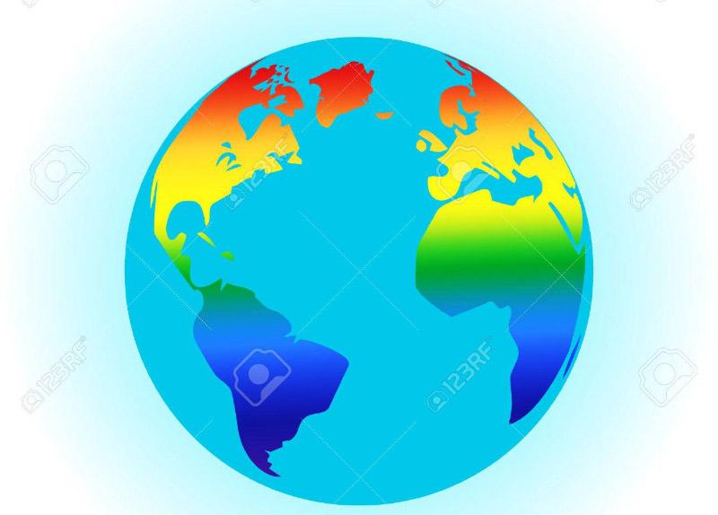 Monde planète terre