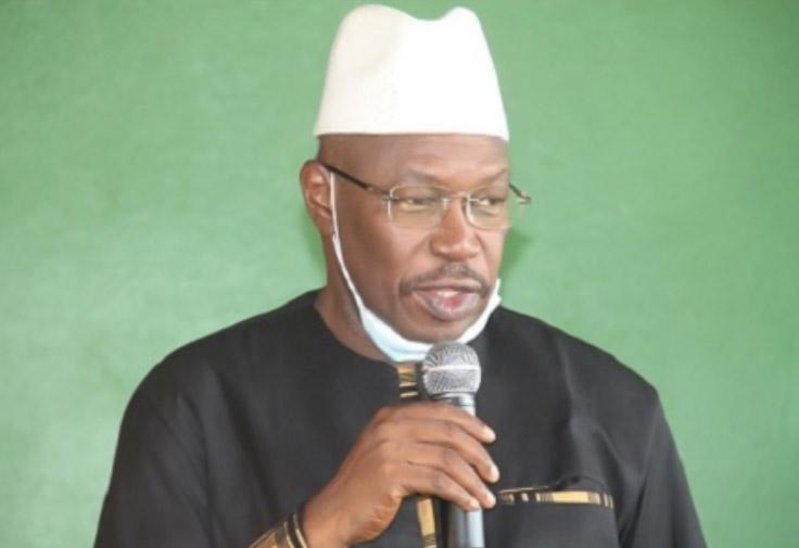 Ousmane Kaba pades